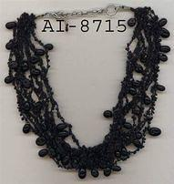 Black Beaded Necklaces